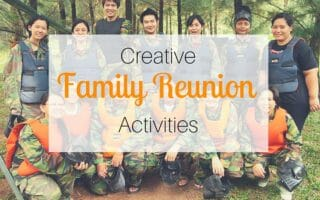 Creative Family Reunion Activities