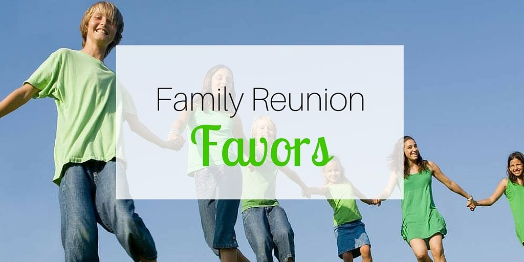 Family Reunion Favors