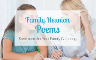 Family Reunion Poems: Sentiments for Your Family Gathering