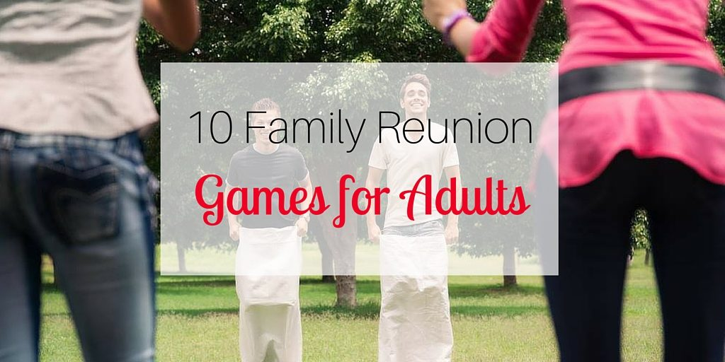 10 Family Reunion Games for Adults