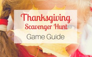 Thanksgiving Scavenger Hunt Game Guide