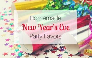 Homemade New Year's Eve Party Favors