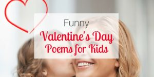 Funny Valentine's Day Poems for Kids