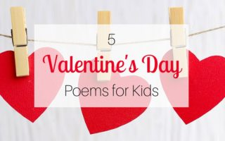 5 Valentine's Day Poems for Kids