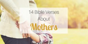 14 Bible Verses About Mothers