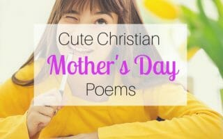 Cute Christian Mother's Day Poems