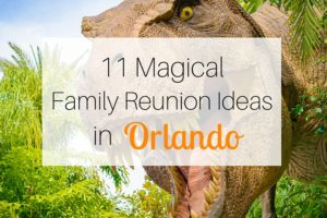 11 Magical Family Reunion Ideas in Orlando