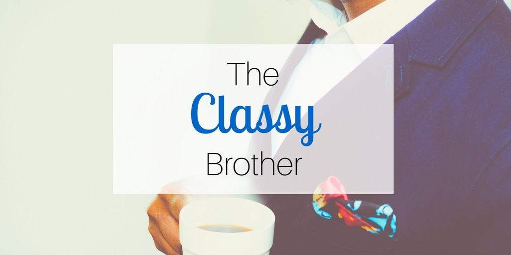 Gift Ideas for Brothers: The Classy Brother