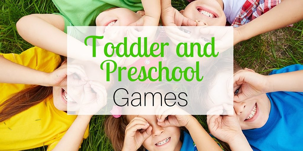 Toddler and Preschool Games