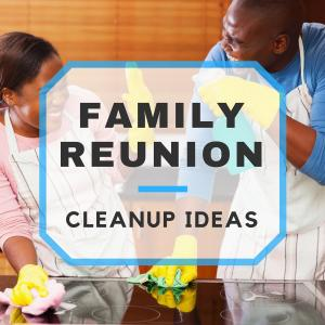5 Family Reunion Cleanup Strategies