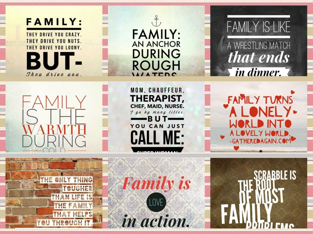Family-Quotes-Collage