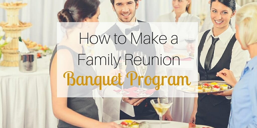 How to write a family paper for family reunion?