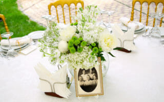 family reunion banquet table centerpiece - 1024