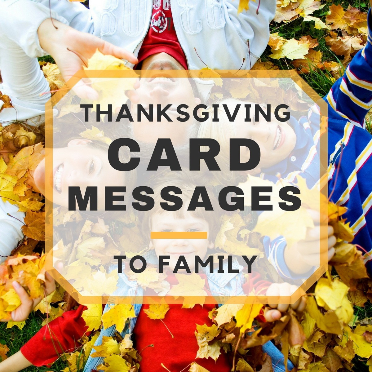 Happy thanksgiving card messages to family kristyandbryce Choice Image