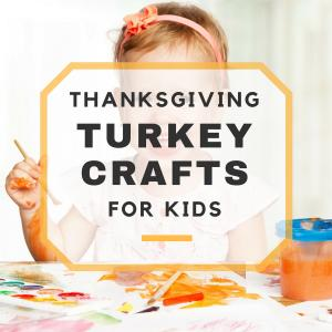 Thanksgiving Turkey Crafts for Kids