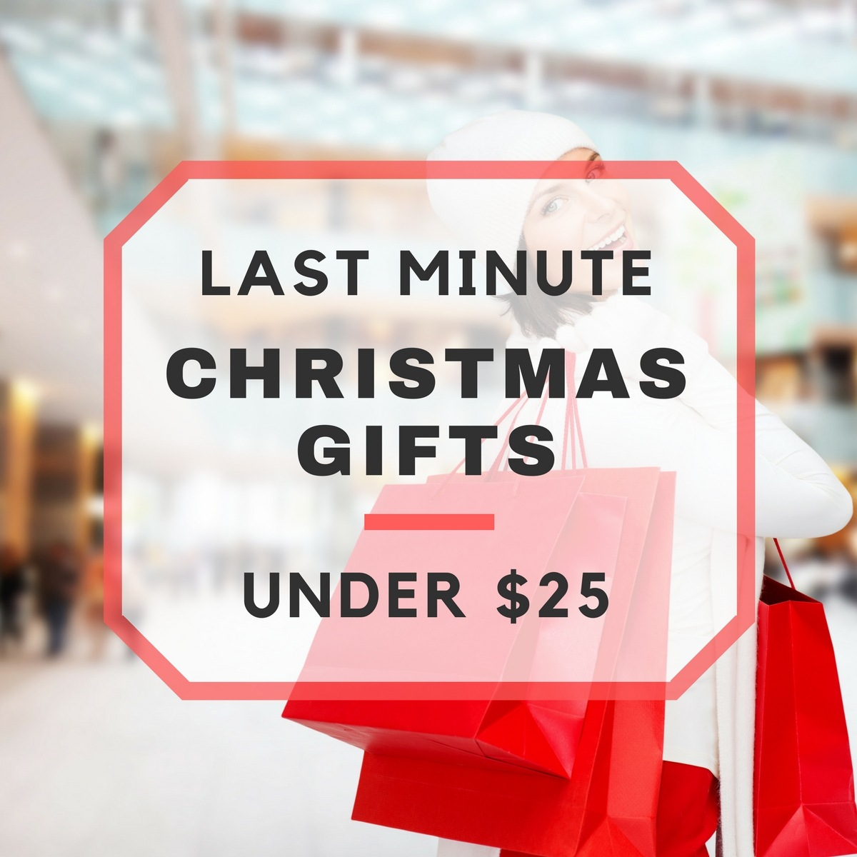 Last Minute Christmas Gifts Under $25