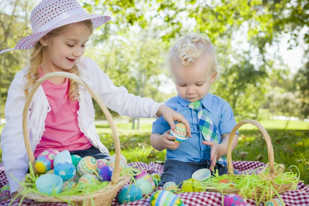 cute brother picture ideas - 101 Toddler Easter Basket Ideas