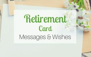 Retirement Card Messages & Wishes
