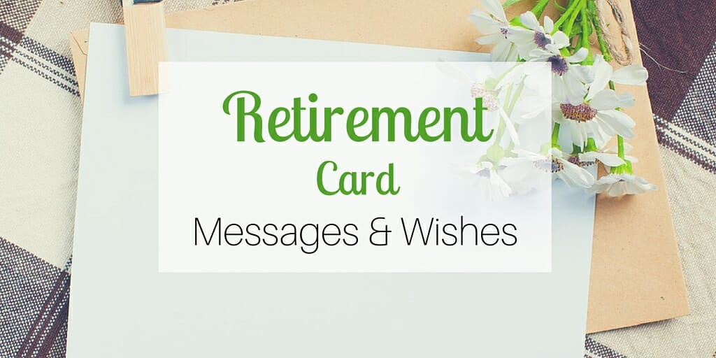 Retirement card messages wishes retirement card messages wishesg m4hsunfo