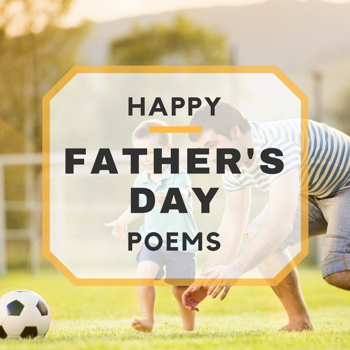5 Happy Father's Day Poems