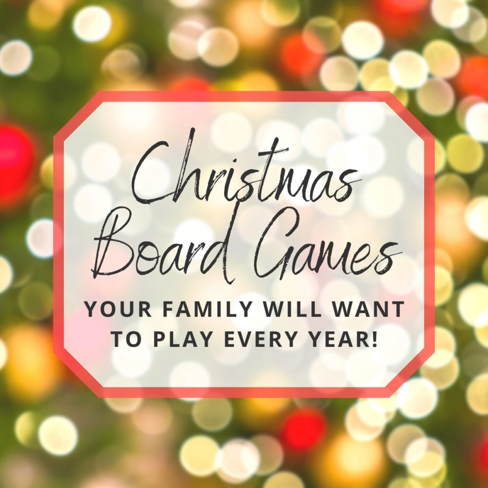 10 Christmas Board Games & Party Games For the Whole Family