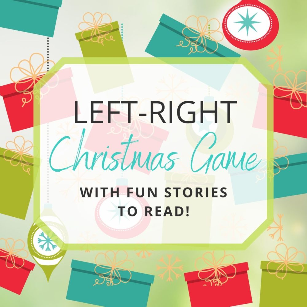 The Left-Right Christmas Game Your Next Christmas Party Needs!