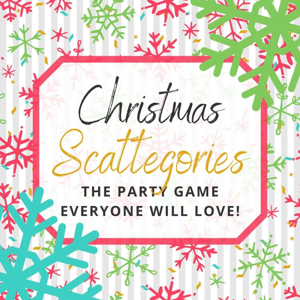 Christmas Scattergories Your Family Will Love Playing!