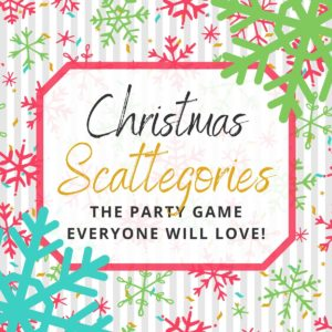 Christmas Scattegories
