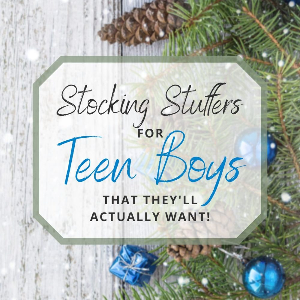 Best Stocking Stuffers for Teen Boys That They'll Actually Use!