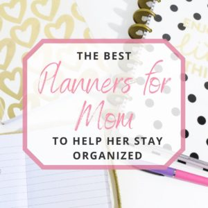 different types of planner for mom