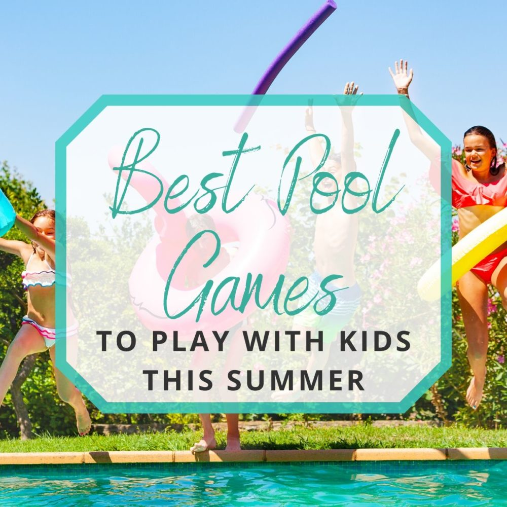20 Best Pool Games to Play with the Kids this Summer!