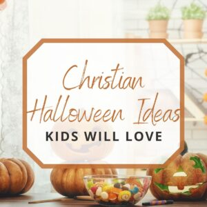 pumpkins and candies for christian halloween ideas