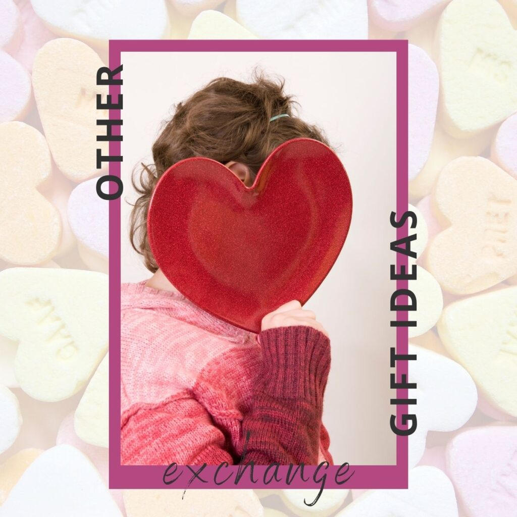 woman hiding behind large heart cutout (valentine left right game alternatives)