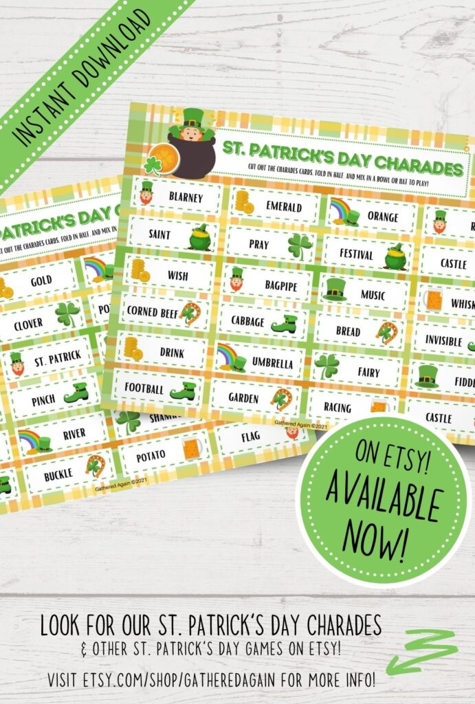 st. patrick's day charades promo picture