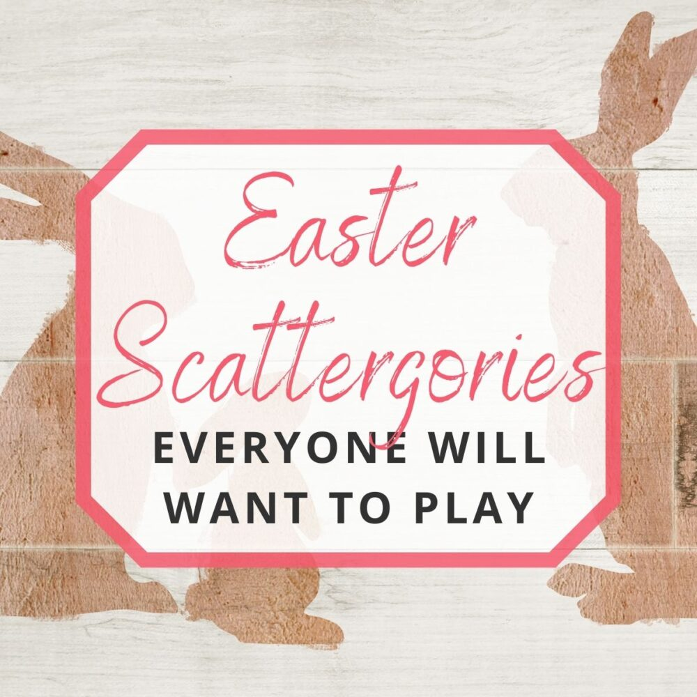 Easter Scattergories Everyone Will Want to Play